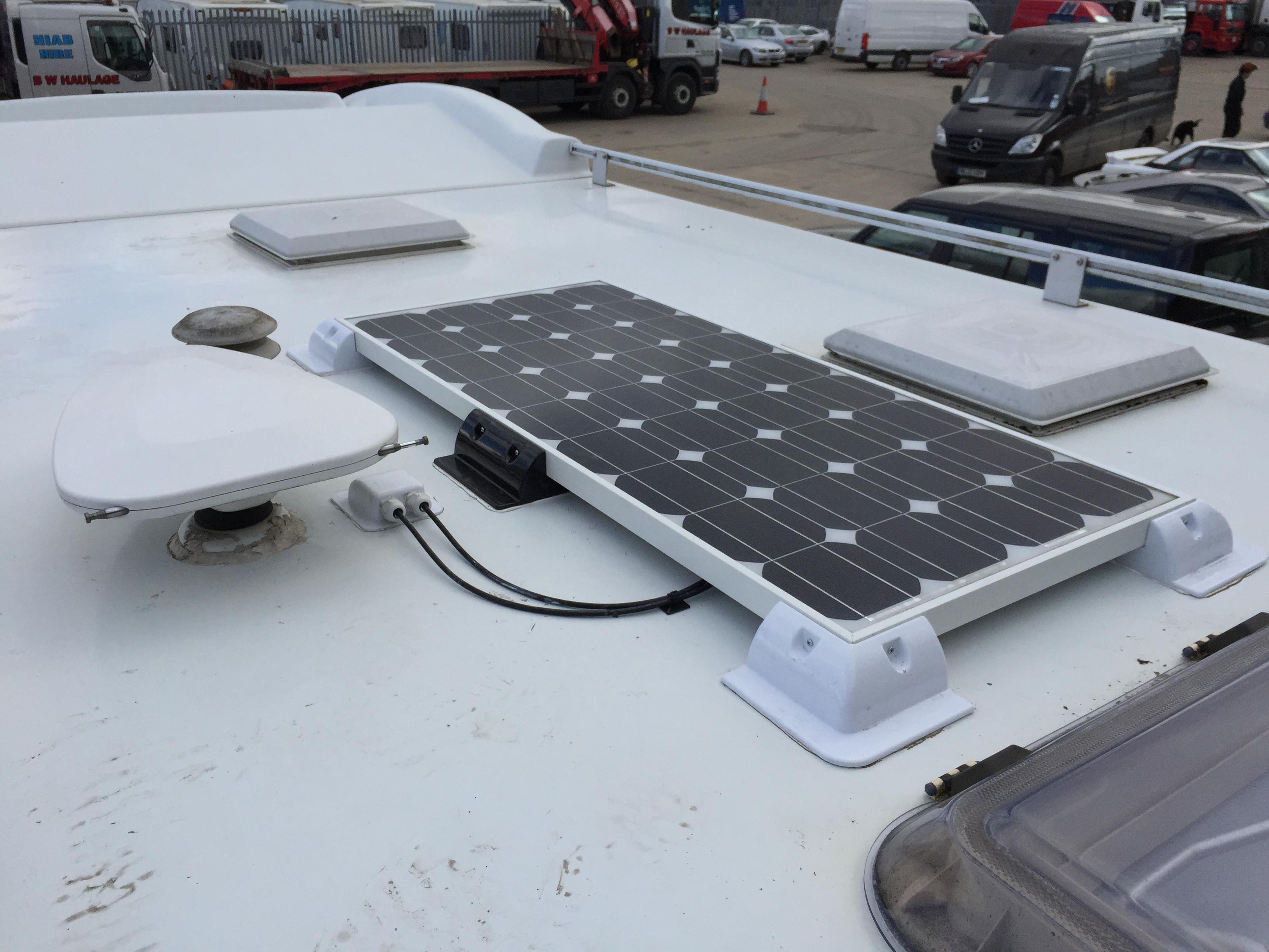 Solarsystem und Stromversorgung