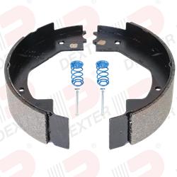 Bremsbacken RECHTS 12 Zoll Hydraulik Bremse